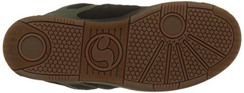 Nubuck Men's Enduro Black UK 125 Olive 9 006 Trainers 5 Black Shoes Black DVS 57UqEZq