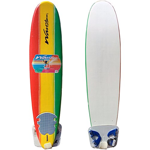 Wavestorm 8ft Classic Longboard Surfboard by Wavestorm