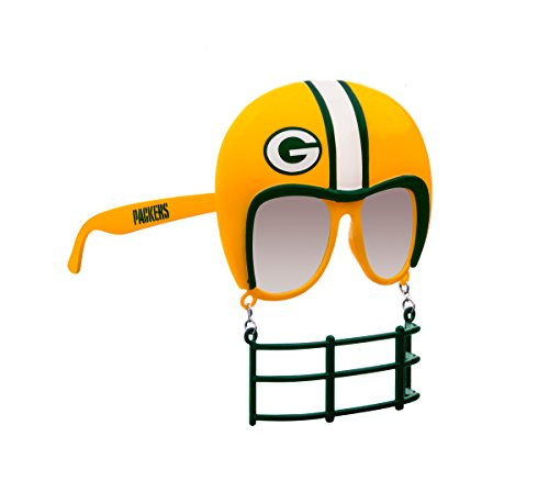 Rico Industries NFL Green Bay Packers Novelty Tailgating Sunglasses