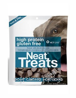 Treats Neat Real Chicken Soft Chews for Big Dogs Case of 8 X 10 oz