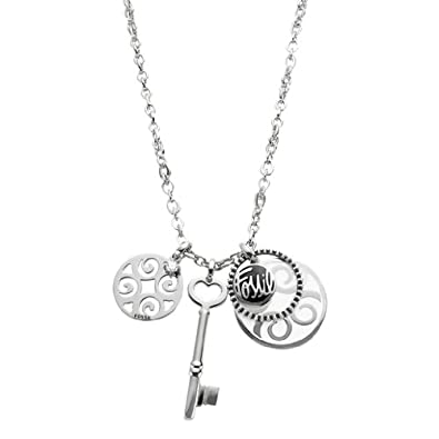 8a5b22d82fa Amazon.com: Fossil Jewelry Necklaces Women's Necklace JF84799040: Jewelry