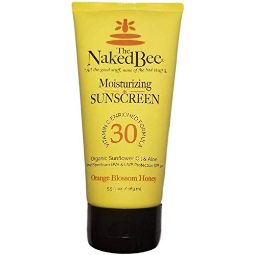 The Naked Bee Vitamin C Face & Body Moisturizing Sunscreen Spf 30 5.5 Oz/163ml