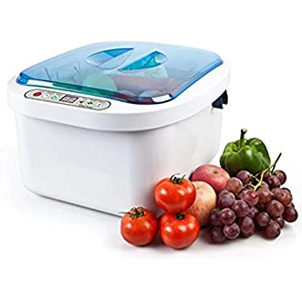 12.8L Home Use Ultrasonic Ozone Vegetable Fruit Sterilizer Cleaner Washer Health by Sololife US STOCK