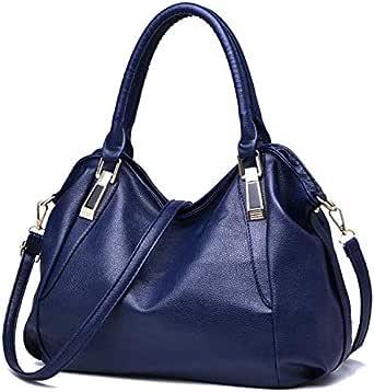 حقيبة للنساء-ازرق - حقائب كبيرة توتس