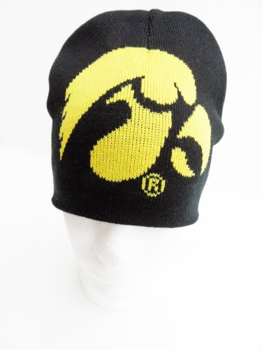 NCAA Iowa Hawkeyes Men's Jacquard Knit Hat