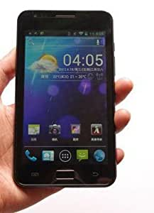 Unlocked (Black) N9000 I9220 Pad 5 inch Phone Tablet Android 4.0 ICS MTK6575 Dual SIM Dual Camera 5MP GPS
