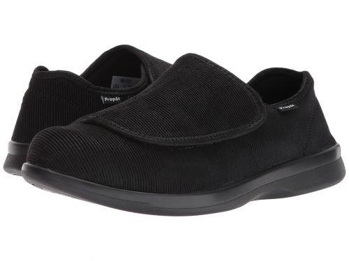 Propt(プロペット) メンズ 男性用 シューズ 靴 スリッパ Cush 'n Foot Medicare/HCPCS Code = A5500 Diabetic Shoe Black Corduroy [並行輸入品] B07BM8B636 12 X (3E)