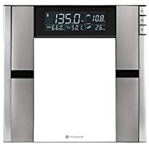 Vitagoods Form Fit Digital Scale and Body Analyzer, Silver