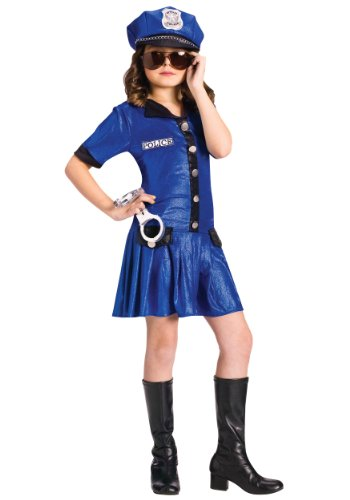Fun World Police Girl Costume