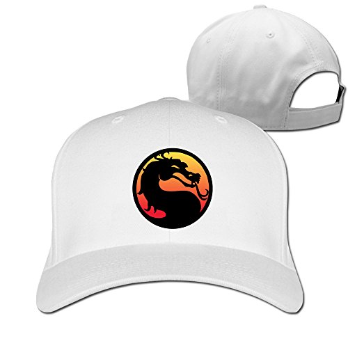 Mortal Kombat Baseball Snapback Cap White (Women Of Mortal Kombat)