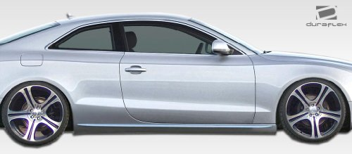 2008-2013 Audi A5 Duraflex S5 Look Side Skirts - 2 (Look Side Skirts)