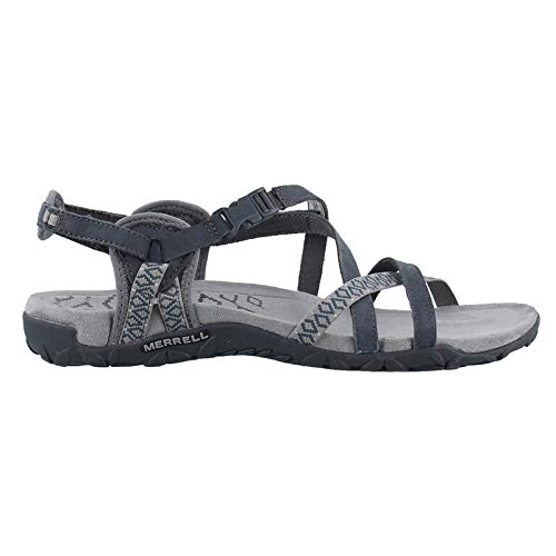 Merrell Women's, Terran Lattice II Sandals Slate 7 M