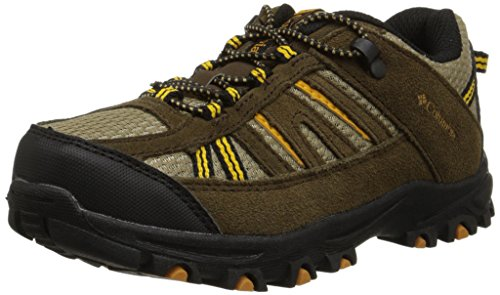 Image of Columbia Youth Pisgah Peak Trail Shoe (Little Kid/Big Kid), Mud, 2 M US Little Kid