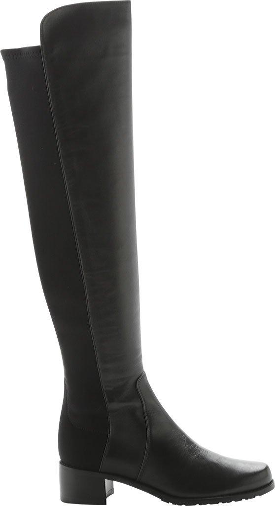 Stuart Weitzman Women's Reserve Boot B005A3M9II 8.5 2A(N) US|Black Nappa Leather/Micro