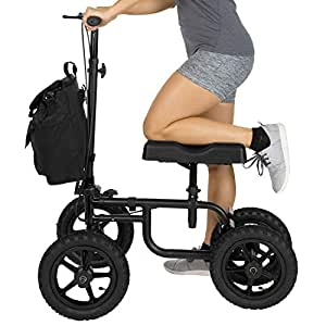 Amazon.com: Vive Knee Walker – Patinete para piernas rotas ...