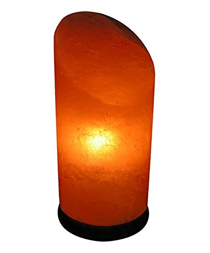 UmAid Himalayan Salt Lamp | Elegant Design, Durable Neem Wood Base | Natural Air Purifier Salt Crystal Lamp | Neutralize Electromagnetic Fields Lamp In Various Shapes | USB Powered Lamp