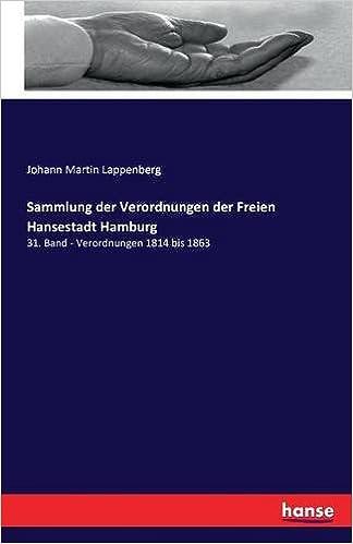 Sammlung der Verordnungen der Freien Hansestadt Hamburg