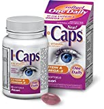 Icaps Lutein and Omega-3 Eye Vitamin and Mineral Supplement, SizeLimit 4Pack (30softgels Each) Hdkw