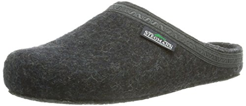 8801 Back Unisex Adults' Stegmann 127 Slippers Open Graphit Grey W6q7xH0