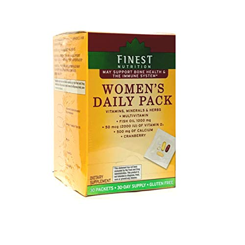 Finest Nutrition Womens Daily Pack 30 ea (2000IU D3)