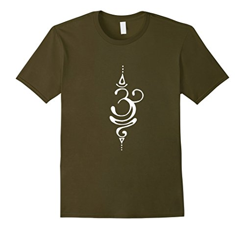 019b8a1cd7 Mens OM Zen Buddha T-Shirt, Lotus, Energy Symbol, Yoga Meditation Medium