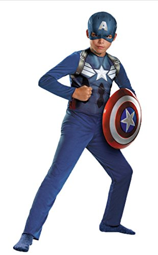 Disguise - Boy's Captain America Costume