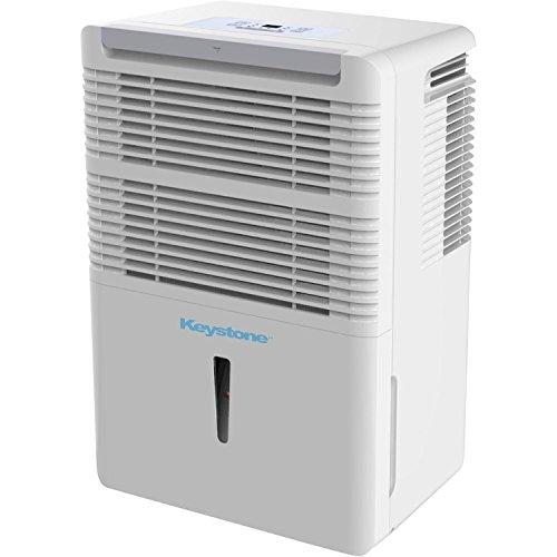 Keystone Kstad30b 30 Pint Dehumidifier With Electronic Controls In White