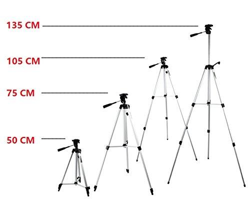 53'' Camera Tripod Mount Holder Stand for Logitech Webcam C925e C922x C922 C930e C930-Silver by AceTaken (Image #2)