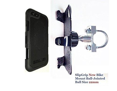 Summit Bolts - SlipGrip U-Bolt Bike Holder For Apple iPhone 8 Plus Using Griffin Survivor Summit Case