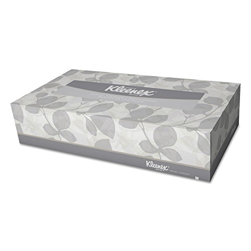 Kimberly-Clark® Professional Facial Tissue in Pop-Up Box, White, 125 per Box