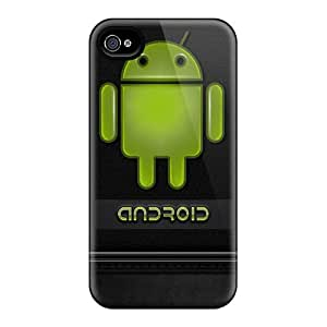 Protective Tpu Case With Fashion Design For Iphone 4/4s (android)