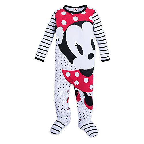 Disney Minnie Mouse Stretchie Sleeper for Baby Size 12-18 MO Multi
