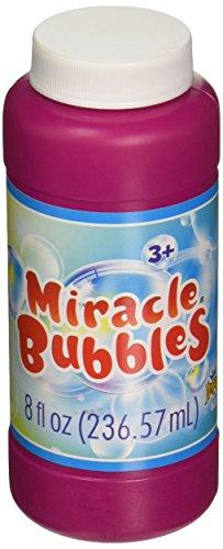 IMPERIAL TOY 8221 Mirable Bubbles Bottle, 8 oz, Multicolor -
