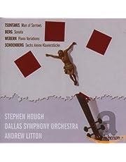 Tsontakis: Man Of Sorrows; Berg: Piano Sonata; Webern: Variations
