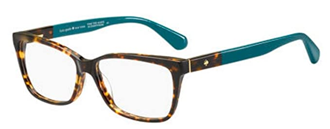 8f155c634c2c Image Unavailable. Image not available for. Color  Eyeglasses Kate Spade  Camberly 0FZL Havana Turquoise