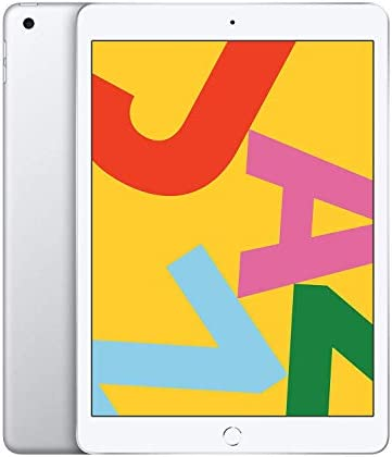 Apple iPad Late 2019, 10.2-Inch, Wi-Fi, 32GB Silver (Renewed)