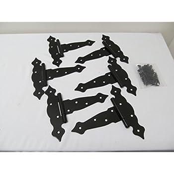 decorative strap hinges. t hinges fancy decorative 6\ strap