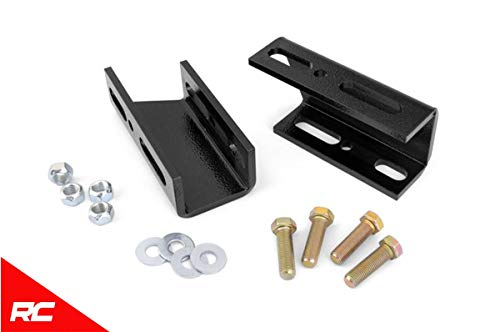 Rough Country Front Sway Bar Drop Brackets Compatible w/ 1980-1996 Chevy GMC Trucks Blazer Suburban Jimmy 1019