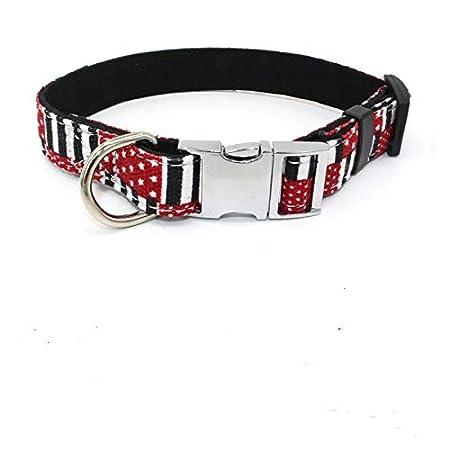 Z ZHIZU Collar de Perro Suave y Transpirable para Perros pequeños ...