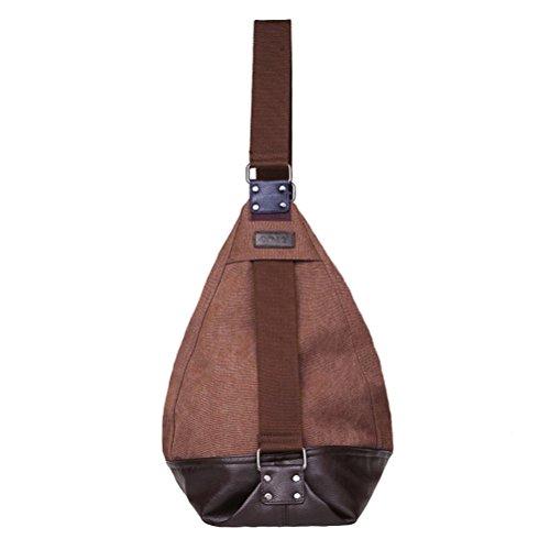 hobo shoppers Marrón hombro bolsos bolsos de muje Abaría bandolera bolsos Bolsos y lona grande totes de Awq8fwU