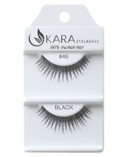 KARA 100% Natural Human Hair Hand Crafted Eyelashes Short, Medium and Long 1Pair