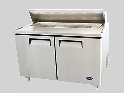 """NEW 2 Door 60"""" Sandwich Prep Table Refrigerator"""