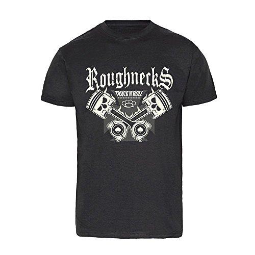"""Roughnecks """"Kolbenfresser"""" T-Shirt (S)"""