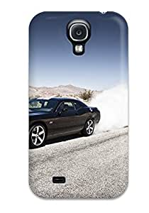 DeniseMA TENyTFT6284flbcj Protective Case For Galaxy S4(dodge Challenger Srt8 392 Smoke Srt Super Car American Muscle Cars Dodge)