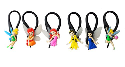 Child Tiger Lily Costume (AVIRGO 6 pcs Soft Zipper Pull Charms for Backpack Bag Pendant Jacket Set # 105-3)