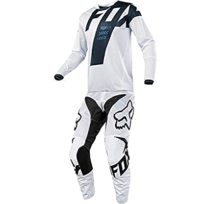 Fox Racing 180 Mastar Airline White Jersey/ Pant Combo - Size LARGE/ 34W