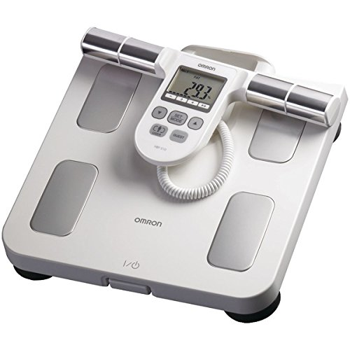 Omron Hbf-510w Full-Body Sensor Body Composition Monitor & Scale (white) 12.25in. x 15.00in. x 3.25in. by Omron