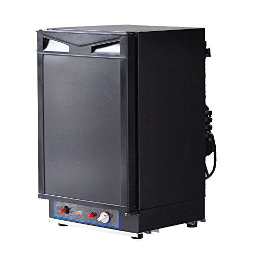 SMAD Gas Refrigerator, 3-Way Absorption Refrigerator, 40L, 110V/12V/Lpg