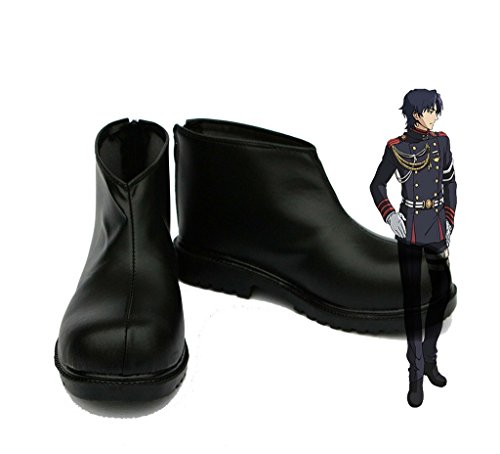 Seraph of the End Anime Guren Ichinose Cosplay Shoes Boots C