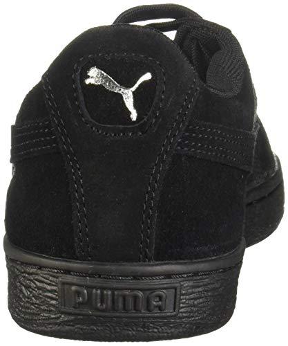 Puma Classic Adulto Nero Suede Sneaker Unisex nero wgqTOa